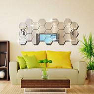 אופנה / פנטזיה / 3D מדבקות קיר מדבקות קיר מראות,PVC 10x10X0.1
