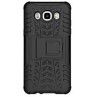 Varten Samsung Galaxy kotelo Iskunkestävä Etui Takakuori Etui Panssari PC Samsung J7 / J5 (2016)