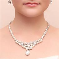 Women's Cubic Zirconia / Imitation Pearl / Alloy Jewelry Set Cubic Zirconia