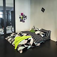 print Duvet Cover Sets 100% Cotton Bedding Set Queen/Double/Full Size