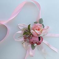 """Svatební kytice ručně vázané Růže Živůtek na zápěstí Svatba Párty / večerní akce Bavlna Hedvábí 7 cm (cca 2,76"""")"""