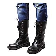 Kozačky Černá Pánské boty Personalizované materiály Svatba / Outdoor / Kancelář / Běžné / Party