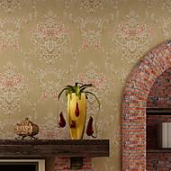 обои Цветочные Обои Современный Облицовка стен,Нетканая бумага
