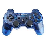 GOiGAME trådløs DualShock 3 controller til PS3 (blandede farver)