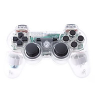 GoiGame draadloze Dual-Shock 3 PS3-controller (transparant)