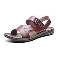 aokang® pánské kožené sandály - 141723070