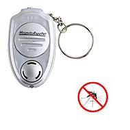 1db hordozható kulcstartó kulcstartóval elektronikus ultrahangos riasztó kártevő szúnyog rovar