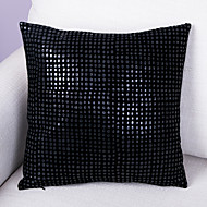 PU Cushion Cover -Black