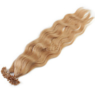 "fusion kératine neitsi 20 ""de 1g / u clouer vague naturelle pointe 100% des extensions de cheveux humains 27 #"