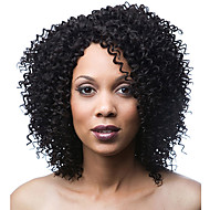 """10""""-26"""" 100% Human Hair Lace Wigs  Indian Virgin Hair Curly Lace Wig for Women"""