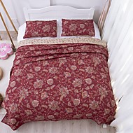 100% pamut divat 3db steppelt ágytakaró szett, queen size