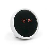 δημιουργική σίγασης ρολόι τραπέζι ηλεκτρονικό ρολόι οδήγησε ρολόι ξυπνητήρι ομορφιά με καθρέφτη (διάφορα χρώματα)