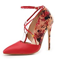 Women's Shoes Stiletto Heel Heels / Ankle Strap / Pointed Toe Heels Wedding / Party & Evening / Dress