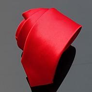 XINCLUBNA® Men's 20 Solid Color Slim Polyester Neck Tie (5cm, 1pc)