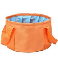 Voyage portable camping en plein air lavage de randonnée bassin pliage seau, seau pliable multifonctionnel