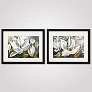 Paisagem / Floral/Botânico / Natureza Morta / Lazer / Esportes Impressão de Arte Emoldurada / Quadros Emoldurados / Conjunto Emoldurado