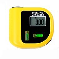 elektronikai lézer távolságmérő teszter LCD digitális kijelző (tartomány: 2 ~ 60ft, + / - 5%)