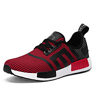Men's Shoes  Casual Fabric Fashion Sneakers NMD Running Shoes Black / Blue / Red