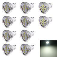 7W GU10 Lâmpadas de Foco de LED R63 16 SMD 5630 560 lm Branco Frio Decorativa AC 220-240 V 10 pçs