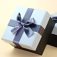 비 개인화-웨딩 / 기념일 / 브라이덜 샤워 / 베이비 샤워 / 성인식 & 스윗 16 / 생일-클래식 테마-기프트 박스(그레이 / 골드,카드 종이)