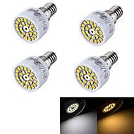 3W E14 LED bodovky R50 24 SMD 2835 240 lm Teplá bílá / Chladná bílá Ozdobné AC 220-240 V 4 ks