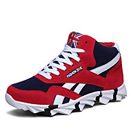 Running Shoes Men's Walking Shoes Synthetic / Black / Blue / Red
