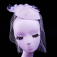 Women's Rhinestone / Tulle / Imitation Pearl / Net Headpiece-Wedding / Special Occasion / Casual / Outdoor Fascinators1