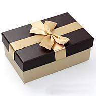 비 개인화-웨딩 / 기념일 / 브라이덜 샤워 / 베이비 샤워 / 성인식 & 스윗 16 / 생일-클래식 테마-기프트 박스(골드 / 다크 네이비,카드 종이)