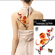 5Pcs Arm Tattoo Large Size Waterproof Temporary Tattoos 12 Chinese Zodiac  Choose Body Art Paste Stickers