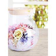 zachovalé čerstvé květiny láhev, který si přeje světlo láhev s dálkovým ovládáním 1ks / set