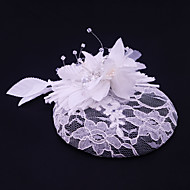 Women's Lace / Rhinestone / Flax / Fabric Headpiece-Wedding / Special Occasion / Casual / Outdoor Fascinators 1 Piece