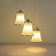 Max 60W Modern Style pendant lights/3-lights/ Resin Shade Cafe/Restaurant/Game Room/Cloths shop Chandelier
