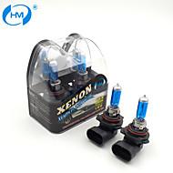 HM® Xenon Plasma 9012 12V 55W Halogen Lamp Headlight White Light Bulbs (a Pair)