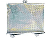 carking ™ versenkbare Fahrzeug Auto Fensterrollsonnensegel blinde Schutz mit Saugnäpfen (58 * 125)
