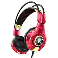 E-3LUE THS903 Iron Man 3 Wired Music Gaming Over-ear Headphones for Cellphone and PC