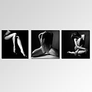 抽象画 風景 ファンタジー カジュアル 写真 現代風 ロマンチック ポップアート 3枚 横式 プリント 壁の装飾 For ホームデコレーション