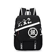 Gintama  Black Quality Canvas Shoulder Bag