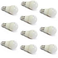 5W E26/E27 Lâmpada Redonda LED A60(A19) 18 SMD 2835 400-500 lm Branco Quente / Branco Frio AC 220-240 V 10 pçs