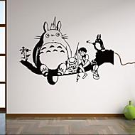 Zvířata / Botanický motiv / Komiks / Zátiší / Tvary / Lidé / Fantazie Samolepky na zeď Samolepky na stěnu,vinyl 58*42cm
