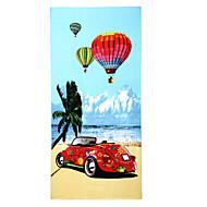 Fashion Reactive Print Beach Towel,27.5 by 59 inch