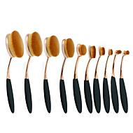 10Pinceau à Lèvres Pinceau Correcteur Pinceau Poudre Pinceau Fond de Teint Autre Pinceau Pinceau à Contour ensembles de brosses Pinceau à