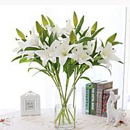 PU חבצלות פרחים מלאכותיים