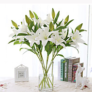 PU Liljat Keinotekoinen Flowers