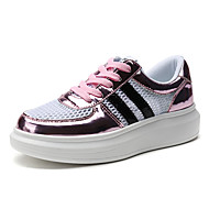 Women's Creepers EU34-EU40 Casual/Outdoor/Travel Fashion Tulle Leather Sneakers