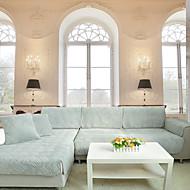 Som på bildet Formtilpasset Moderne Overtrekk til sofa , Chenille Stofftype slipcovere