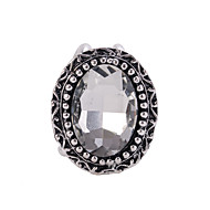 Antique Silver Rinestone Brooch Scarf  Buckle Jewelry Accessories Scarf Ring For Lady