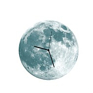 Diy Luminous Wall Clock Luminous Moon Wall Clock Silent Watch Wall Decoration
