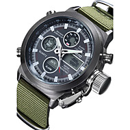 Men's Military Watch Japanese Quartz Analog-Digital Wrist Watch Alloy Band Fashion Watch(Assorted Color) Cool Watch Unique Watch