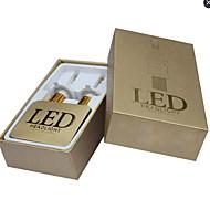 2ks 2.012 až 2.016 rok mondeo / ostření / fiesta 70W H4 LED světlomet dálkového světla sady do auta vedl reflektor kit bílou barvu
