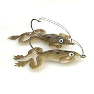 4pcs  Frog lures Soft Baits 5g 60mm Sea Fishing/Freshwater Fishing/Lure Fishing